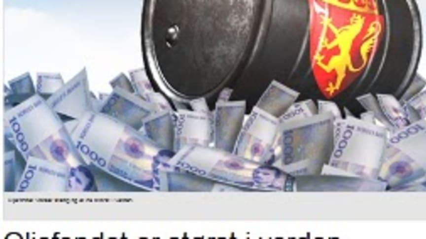 Blogg: Lær sparing av oljefondet