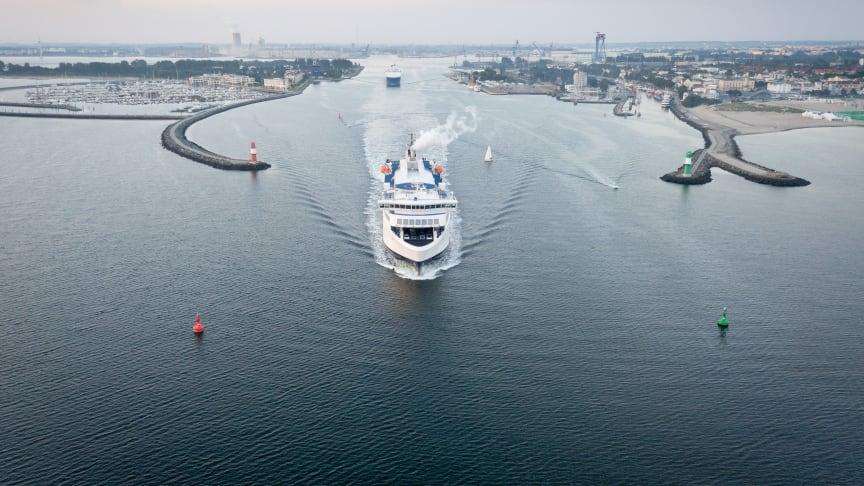Einladung zum maritimen Frühstück der Reederei Scandlines auf der transport logistic 2019
