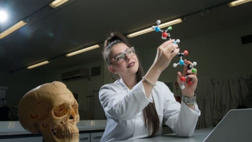 Dr Noemi Procopio, Lecturer in Forensic Science at Northumbria University, Newcastle