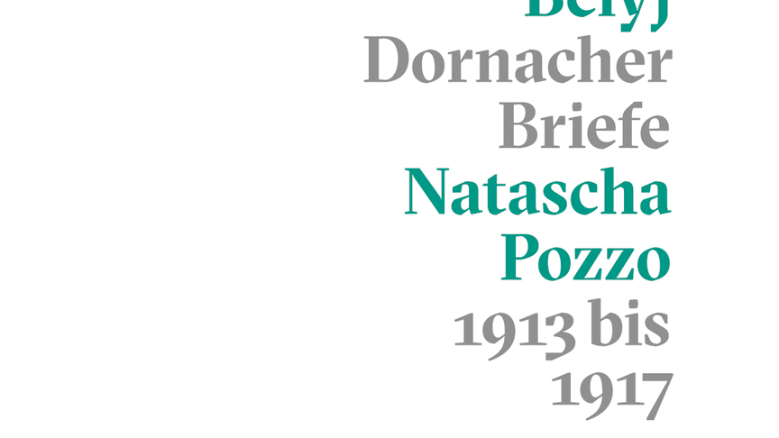 Cover ‹Die Dornacher Briefe› von Andrej Belyj und Natascha Pozzo (Verlag am Goetheanum)