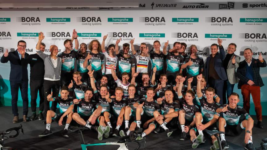 BORA-hansgrohe cykelholdet klar til den nye 2020 sæson
