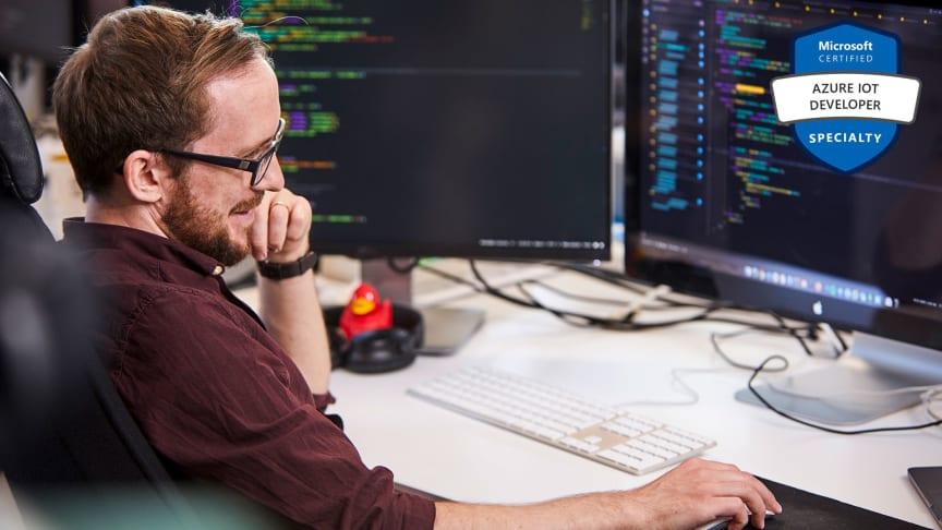 Sigma fortsätter att satsa strategiskt med Microsoft och Azure IoT.