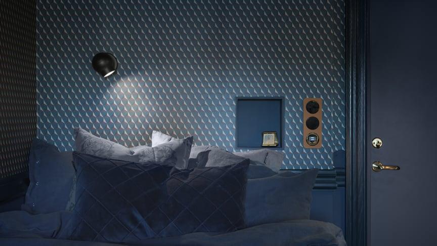 Rum 10, Åhus Gästgiveri med serie berker R.1 i läder