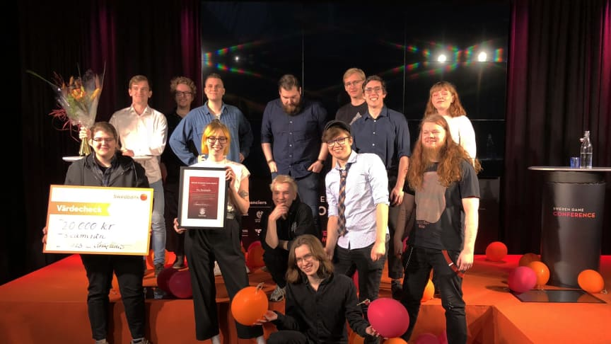Årets SAGA-vinnare presenterades på Sweden Game Conference