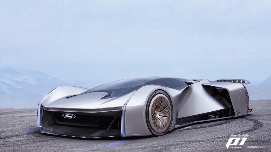 Ford presenterar den första bilen någonsin som har utformats i samarbete mellan en biltillverkare och spelare inom e-sporten.
