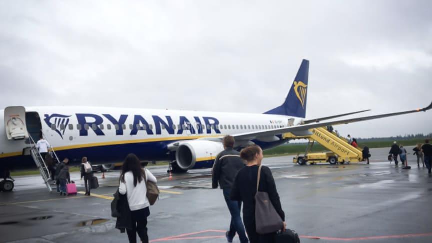 Ryanair i Billund - Foto: BLL/PR