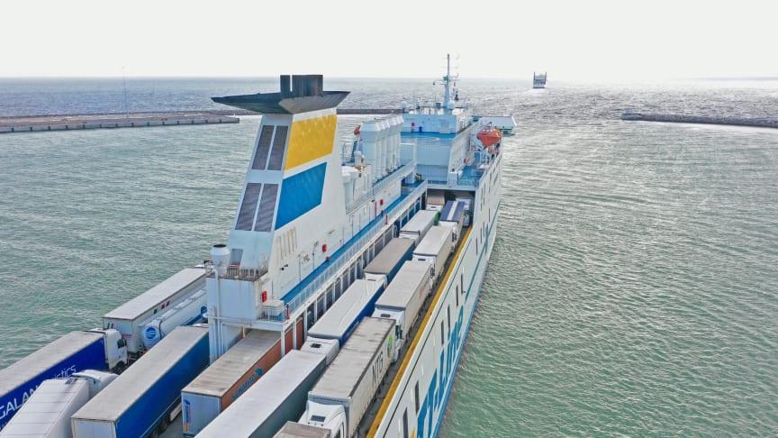 Trelleborgs Hamns volymer öppnar möjligheter för grön kustsjöfart