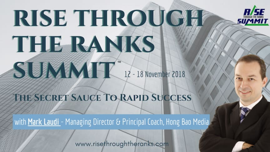 Join me and over 35 global gurus, C-suite corporate leaders and billionaire entrepreneurs who will share insights on how to convert obstacles into opportunities