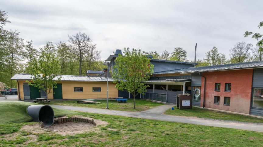 Kanehalls förskola foto: Sölvesborgs kommun