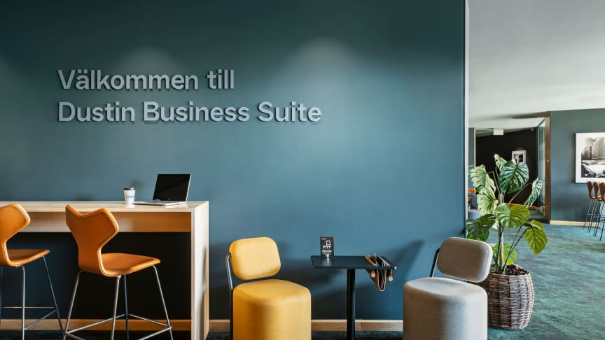 Dustin Business Suite på Clarion Hotel Sign