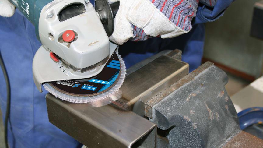 Nye lamellrondeller fra Norton gir mer effektiv sliping