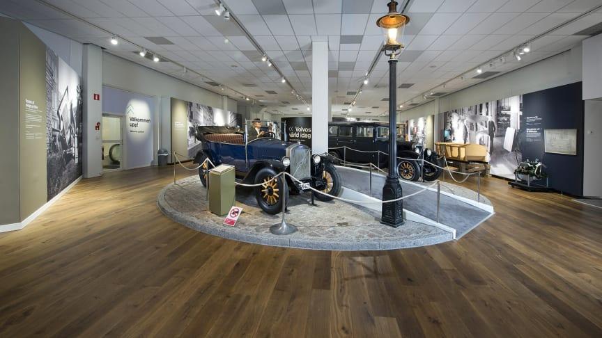 Volvo Museum - del av utställning