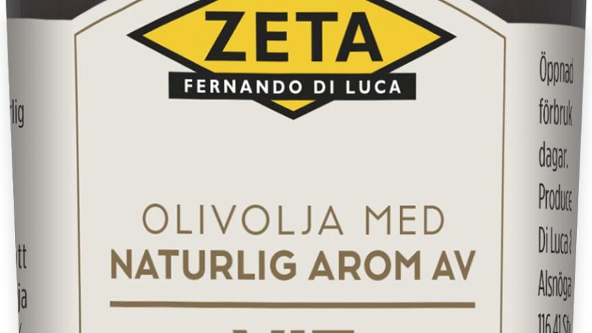 Produktbild Zeta vit tryffelolja, 100 ml
