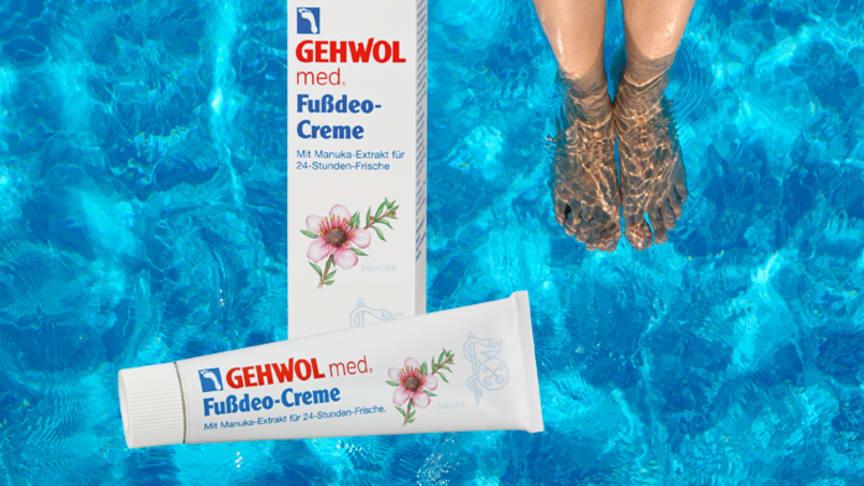 Nicht jede Maßnahme für frische Füße wirkt mindestens 24 Stunden lang nach. Bild: timonko | fotolia