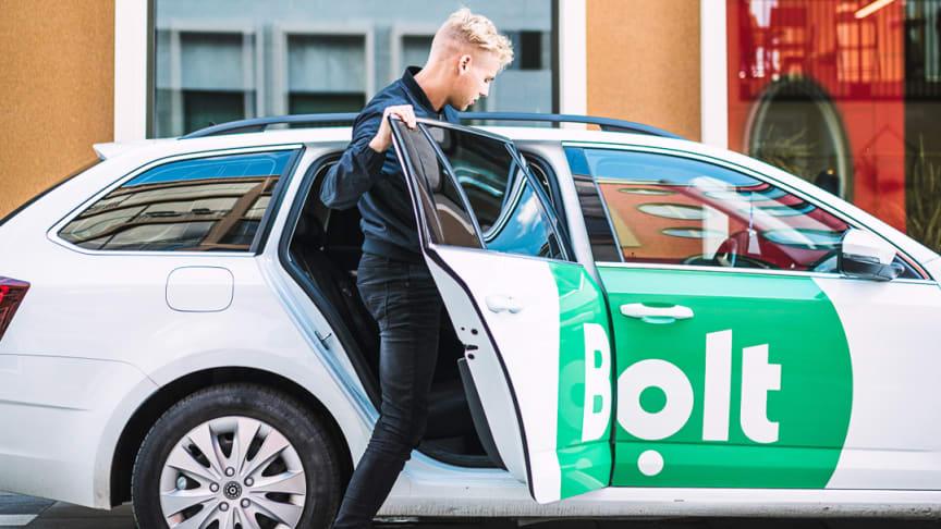 Bolt expanderar med ny app i AppGallery – Bolt Driver