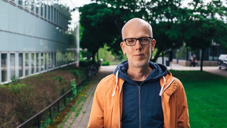 Jens Rydgren, professor i sociologi vid Stockholms universitet, har valts in som ny arbetande ledamot i Kungl. Vitterhetsakademien. Foto: Clément Morin.