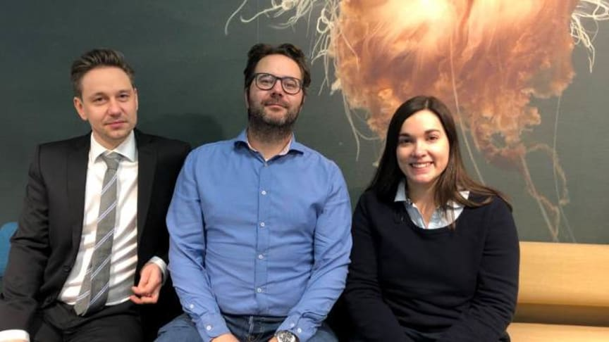 The Cermaq researchers Sverre Bang Småge, Øyvind Brevik and Kathleen Frisch have all got their doctoral degree.
