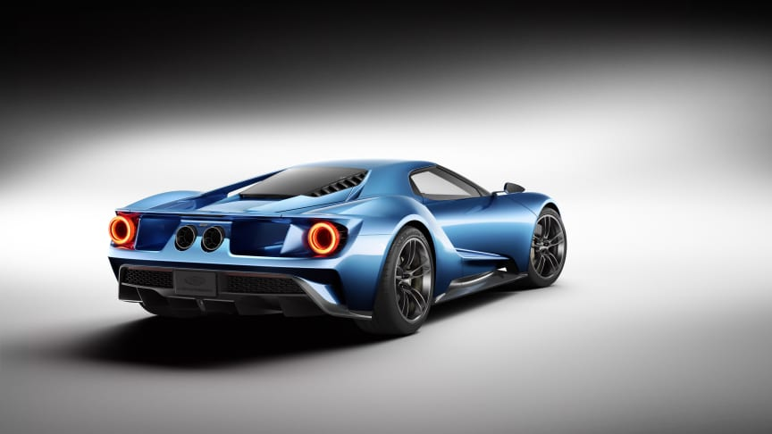 Ny Ford GT ved NAIAS 2015