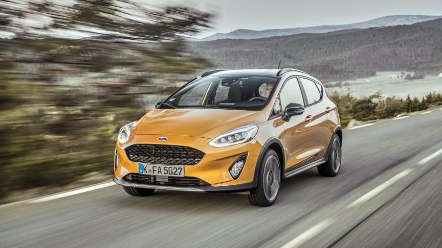 Nye og tøffe Fiesta Active klar for Norge