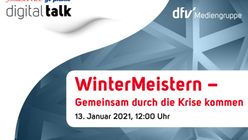 DigiTalk #WinterMeistern am 13. Januar 2021