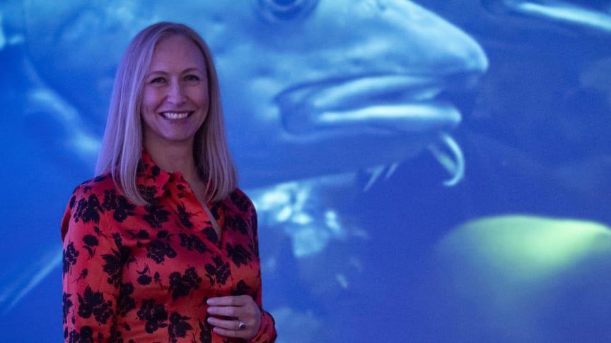 Renate Larsen, administrerende direktør i Norges sjømatråd