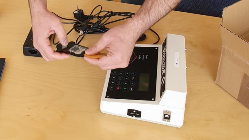 Chip för SARS-CoV-2 analys och Pathpod
