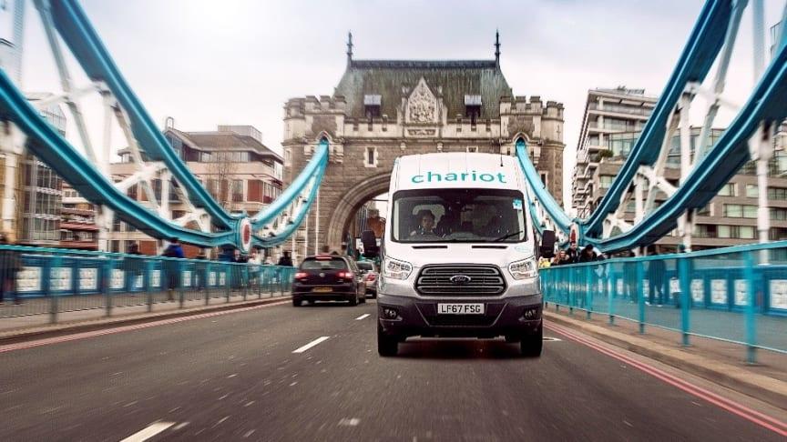 Chariot skal sikre bedre pendlerbustransport i London, for folk der bor i områder med ringere offentlig transport.