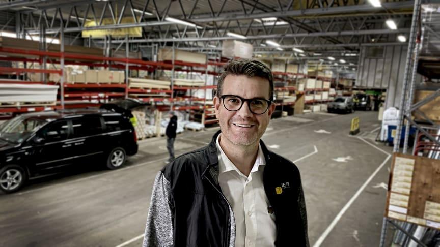 Olof Rydman ansvarig för kundklubben hos Beijer Byggmaterial.