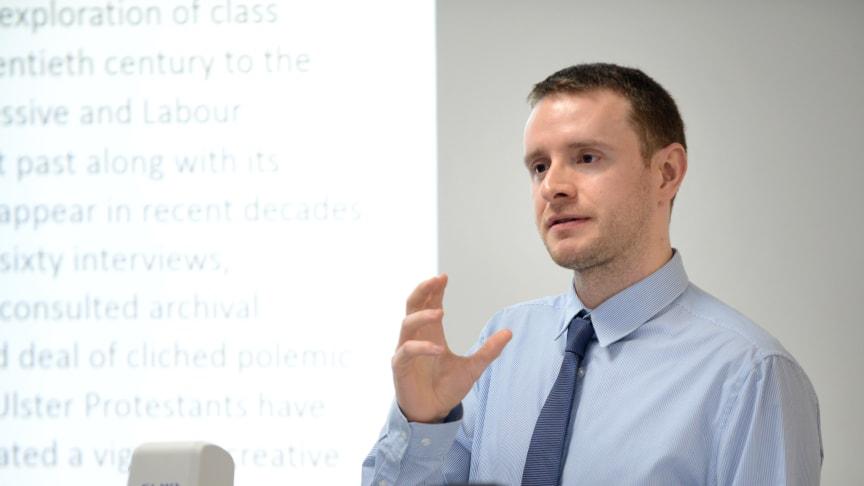 Dr Connal Parr of Northumbria University