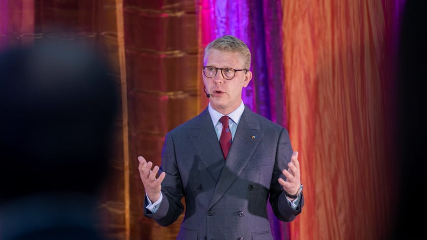 Kristoffer Tamsons (M) omvald som ordförande för Mälardalsrådet. Foto: Anders Nilsson/Mälardalsrådet.