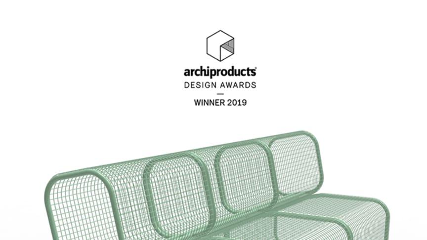 Cushy - Vinnare av Archiproducts Design Awards 2019. Design Gripner & Hägglund