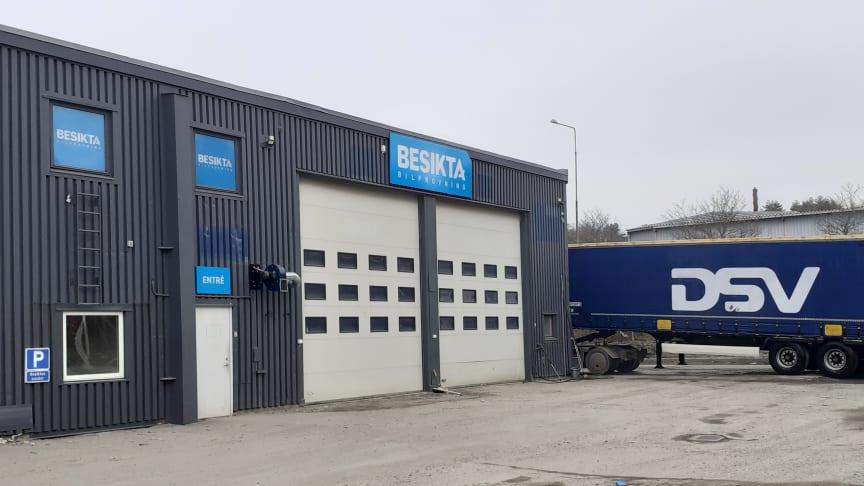 Besikta etablerar, i samarbete med DSV, ytterligare en station i Göteborg, Arendal