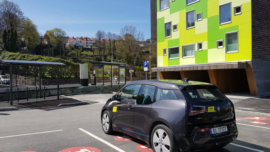 Mobilpunkt i Møllendalsveien, Bergen
