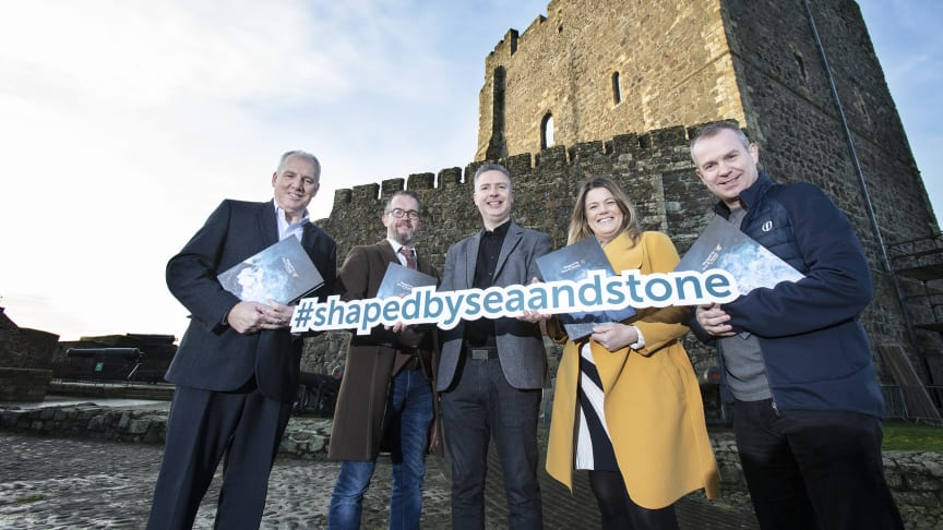 L-R: Tony Haren, Admor Business Solutions; Brendan Murphy, Ghost Consultancy; Jason Powell , Mid and East Antrim Borough Council; Debbie Rymer, SAND Marketing & The SAND Marketing Academy; and Geoff Wilson, Geoff Wilson Consultancy