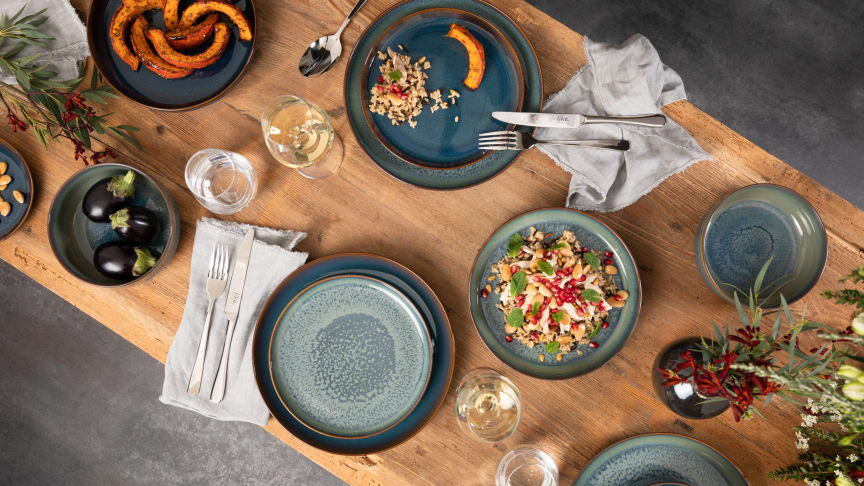 New and modern pottery look – Crafted for trendy food stylings and fashionable table settings