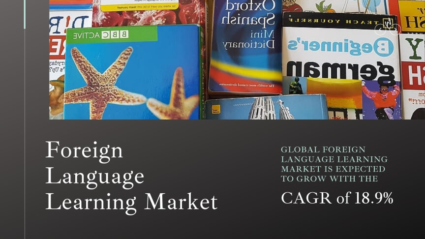 Foreign Language Learning Market