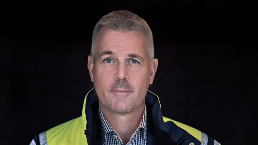 Johan Nilsson, VD SVEAB Anläggning