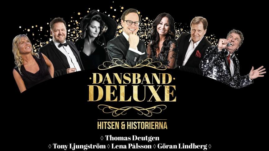 "Hela Sveriges dansbandsexpert Thomas Deutgen samlar artisteliten till gemensam turné ""Dansband Deluxe""!"