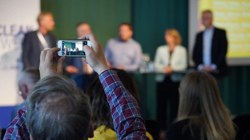 Är Skandinavisk kunskap nyckeln till fossilfrihet? Det var temat för Helsingborgs och Öresundskrafts seminarium den 23 maj under Nordic Clean Energy Week.