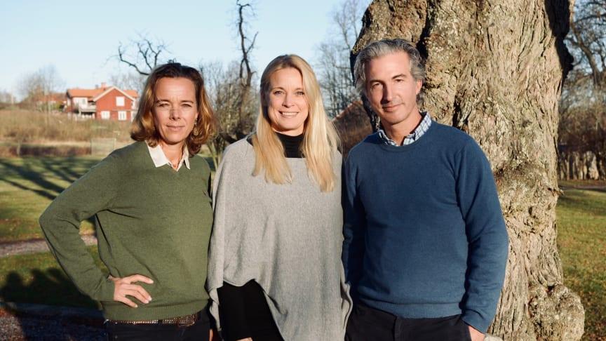 Ebba Horn, Catharina Löfqvist och Ben Craven