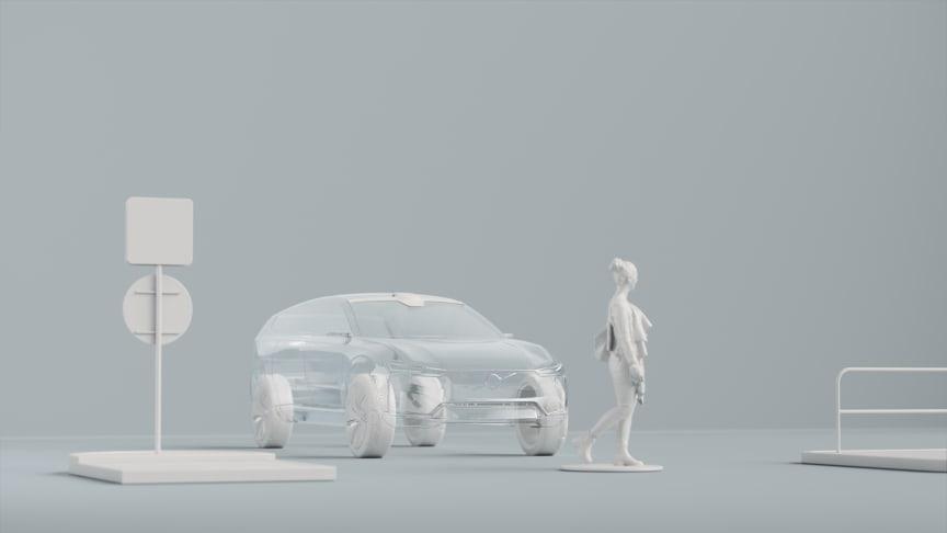 Volvo Cars fremtidig sikkerhedsteknologi