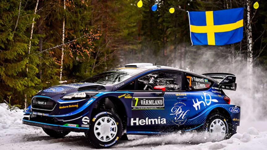 Missa inte Rally Sweden i SVT