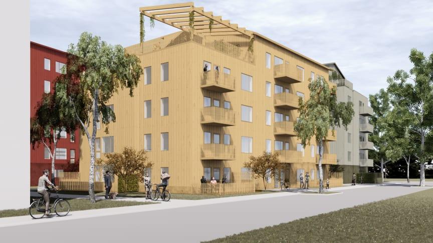 Alive Bostad, Rosendal i Uppsala
