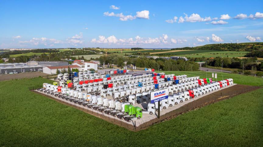 Ny DAF-anläggning för begagnade lastbilar öppnar i Prag