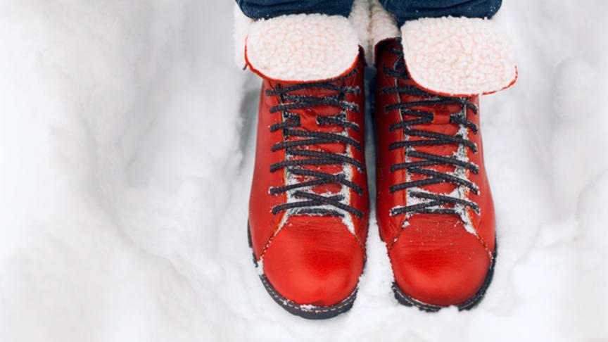 Wirksamer Schutz gegen kalte Füße. Bild: solominviktor | fotolia