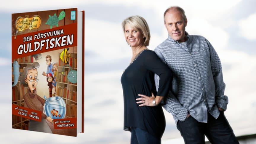 FRÄCK STÖLD  – Skolbibliotekarie Inga Blads guldfisk stulen!