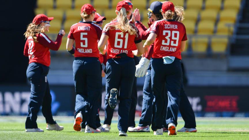 England Women won by six wickets.