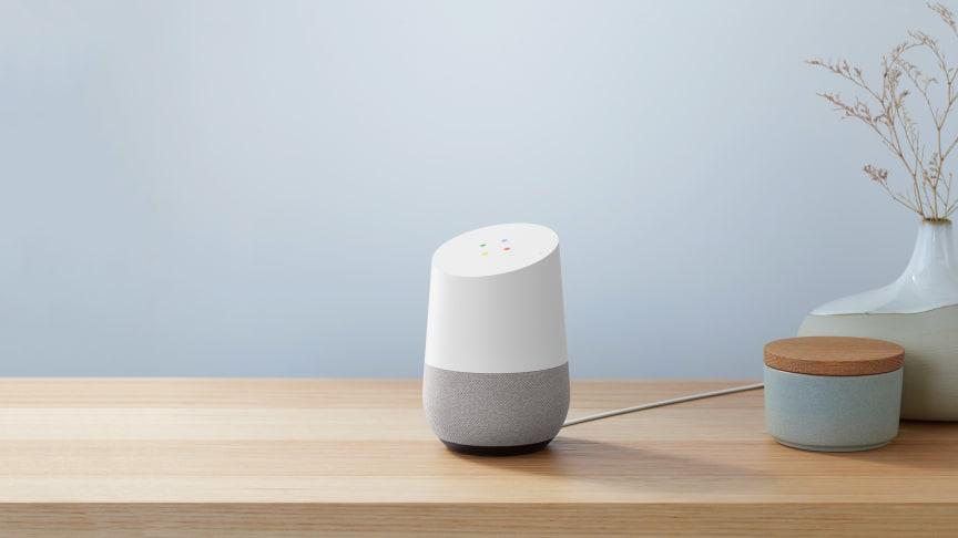Hey Google! Nu kommer Googles smarte højttalere med dansk taleassistent til Elgiganten