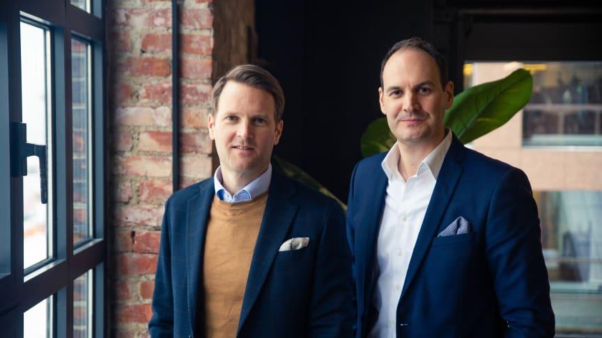 Dan Børge Høvik og Christopher Carey, Sigma Technology Norway. Foto: M51