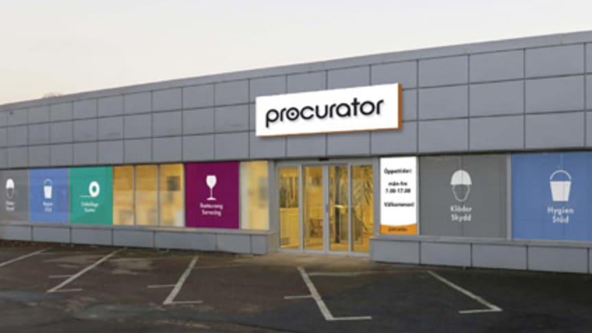 Procurator bygger större och bättre butik i Landskrona